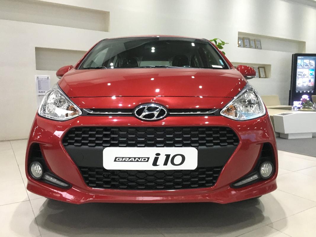 Hyundai i10 hatchback 2019 màu Đỏ tươi